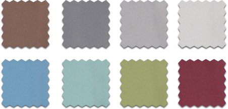 Plain curtain textile colour swatch