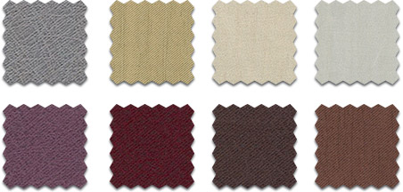 Textured curtain textile colour swatch