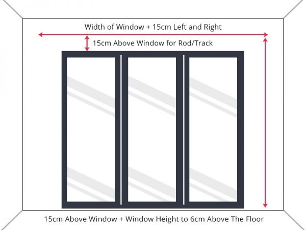 Guide to measure full length window drop.